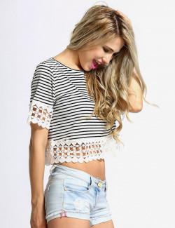 Alli Strappy Frill Midi Skater Dress