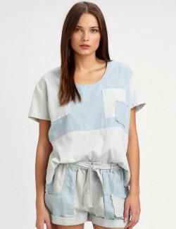 Annora Lace Trim Cold ShoulderMaxi Dress