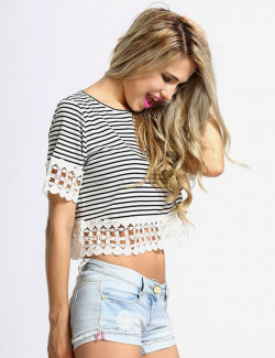 Lilly Crochet Trim Sundress
